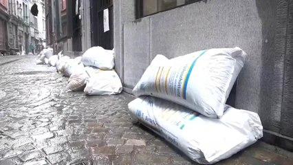 Belgium's city of Liège hard hit by heavy floods, July 16, 2021. (Credit: EFE)