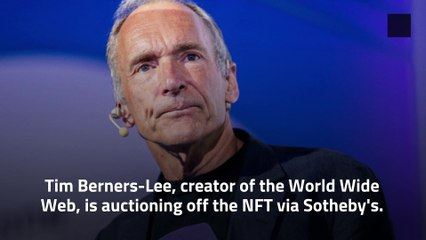 The World Wide Web Code is Being Sold as an NFT