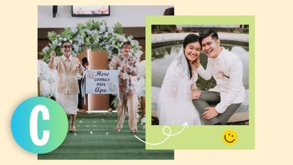 Aww! This Pinay Chose Her Lolas To Be Flower Girls At Her Wedding