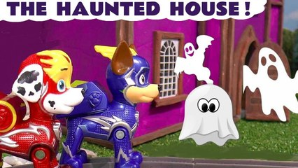 Paw Patrol Mighty Pups Charged Up Spooky Haunted House Toy Rescue with the Funlings in this Halloween for Kids Full Episode English Toy Story Video for Kids by Kid Friendly Family Channel Toy Trains 4U