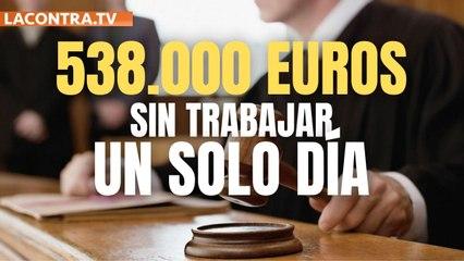 Se embolsa 538.000 euros sin trabajar ni un solo día durante 15 años