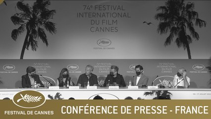 FRANCE - CONFERENCE DE PRESSE - CANNES 2021 - VF