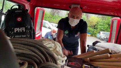 Trois pompiers de la Loire au secours de la Belgique