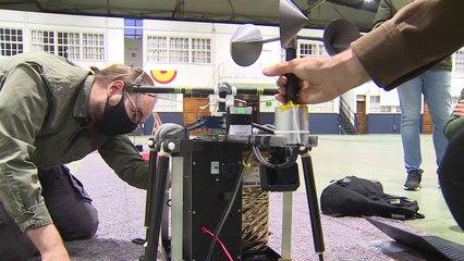Alumnos de la UAX y de la UPM lanzan con éxito un microsatélite en León