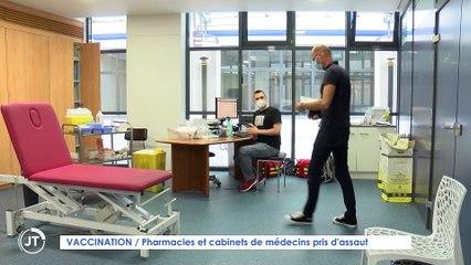 Le Journal - 16/07/2021 - VACCINATION / Pharmacies et cabinets de médecins pris d'assaut