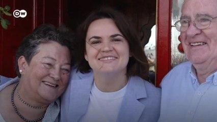 Встреча Тихановской с семьей в Ирландии
