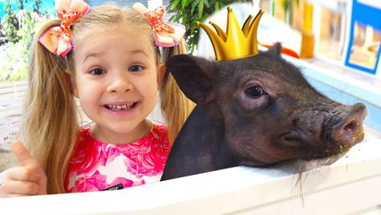 Diana and Roma Visit the Zoo and Learn about Animals