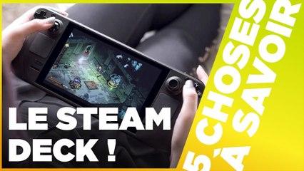 UNE SWITCH PAR STEAM ? - 5 Choses sur le Steam Deck