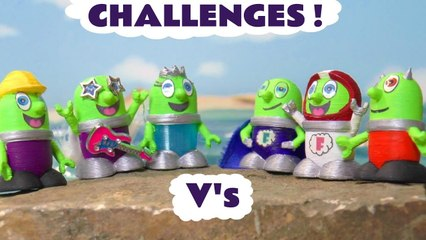 Funny Funlings Versus Challenges with a Funlings Race in these Family Friendly Full Episode English Toy Story Videos for Kids by Kid Friendly Family Channel Toy Trains 4U