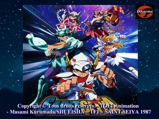 DAnime  : Saint Seiya 01 (1ere partie) Presentation et inspirations de la série animée