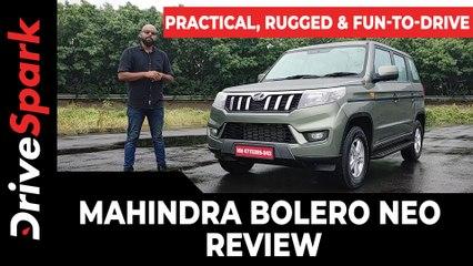 Mahindra Bolero Neo Review: Engine, Performance & Driving Impressions | DriveSpark Reviews