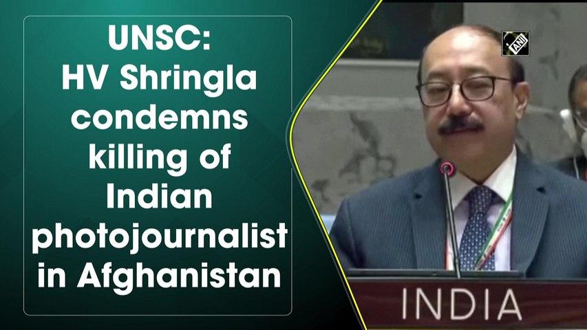 Harsh Vardhan condemns killing of Indian photojournalist in Afghanistan