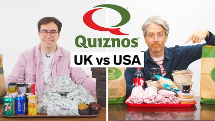 Every difference between Quizno's in the UK and the US