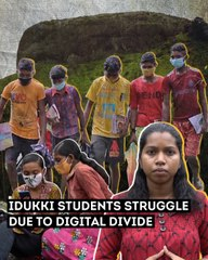 Courting danger for education, students in Kerala's Idukki struggle