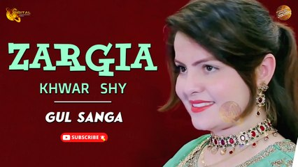 Zargia Khwar Shy By Gul Sanga   Pashto New Song   Spice Media
