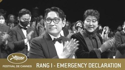 EMERGENCY DECLARATION - RANG I - CANNES 2021 - VO