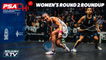 Squash: PSA World Championships 2020/21 - Women's Rd 2 Roundup