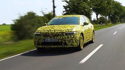 Brandneuer Opel Astra - Validierungsfahrt
