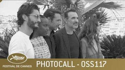 OSS 117 : ALERTE ROUGE EN AFRIQUE NOIRE - PHOTOCALL - CANNES 2021 - EV