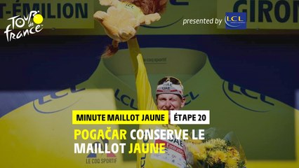 #TDF2021 - Étape 20 / Stage 20 - LCL Yellow Jersey Minute / Minute Maillot Jaune