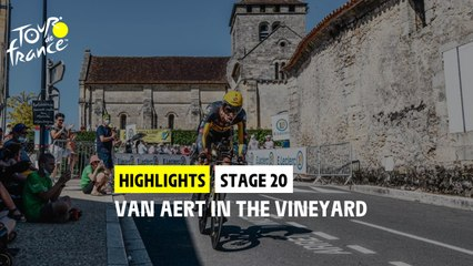 Highlights - Stage 20 - #TDF2021