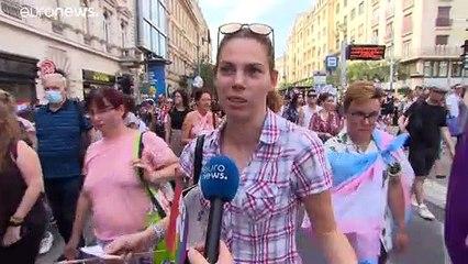 Tausende beim Pride-Marsch in Budapest gegen Anti-LGBTQ-Gesetz