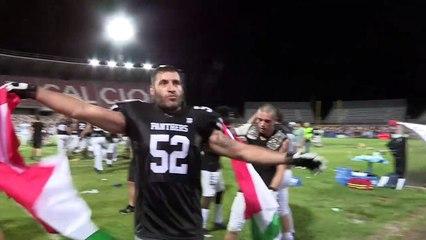 Panthers Campioni d'Italia: la festa sul campo