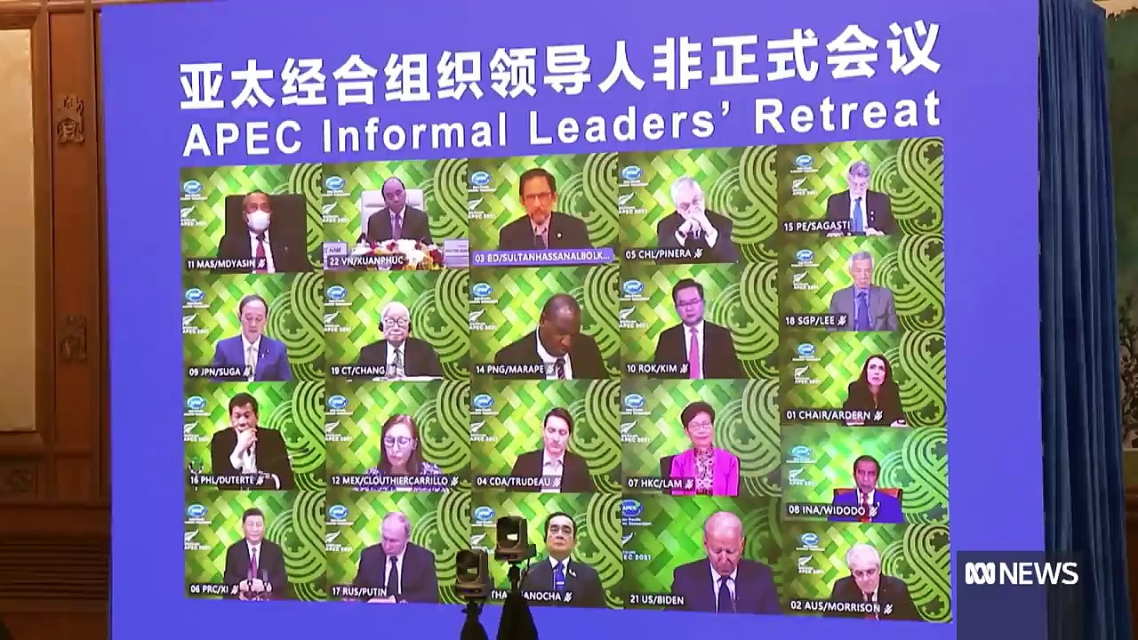 APEC leaders vow to expand COVID-19 vaccine sharing _ ABC News