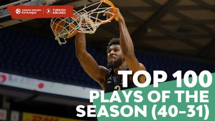Top 100 Plays of the Season (40-31)