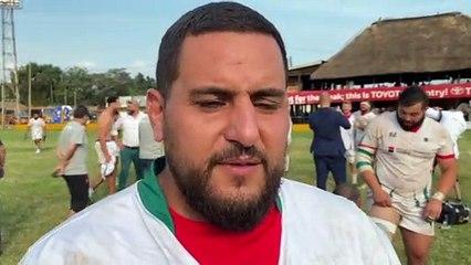 """Sofiane Chellat : """"C'est une grande fierté pour le rugby algérien"""""""