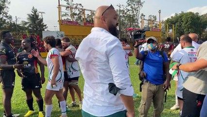 Ouganda-Algérie (16-22) : explosions de joie et réactions d'après match !! C'est l'euphorie !!!