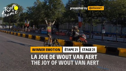 #TDF2021 - Étape 21 / Stage 21 - Winner's emotion / L'émotion du Vainqueur
