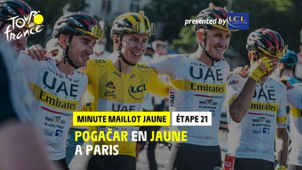 #TDF2021 - Étape 21 / Stage 21 - LCL Yellow Jersey Minute / Minute Maillot Jaune