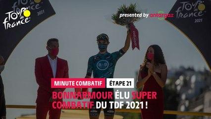 #TDF2021 - Étape 21 / Stage 21 - Antargaz most aggressive rider Minute / Minute du Combatif Antargaz