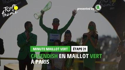 #TDF2021 - Étape 21 / Stage 21 - Škoda Green Jersey Minute / Minute Maillot Vert