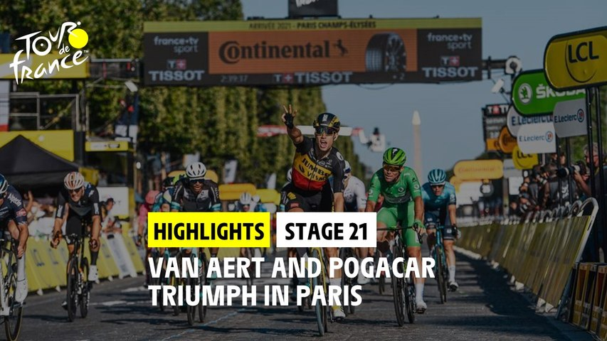 Highlights - Stage 21 - #TDF2021