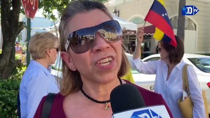 Exilio venezolano se une a los cubanos en pedido de libertad