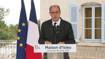 Jean Castex a présidé la commémoration de l'arrestation des enfants d'Izieu en avril 1946