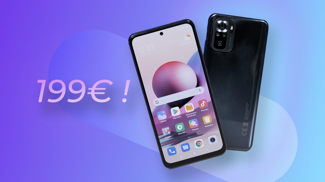 Le MEILLEUR SMARTPHONE à 199€ ! (Xiaomi Redmi Note 10s)