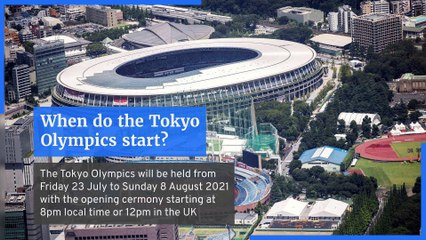 Everything you need to know about the Tokyo 2020 olympics