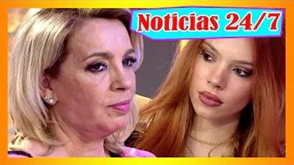 Alejandra Rubio se sincer@ con su tía Carmen Borrego - Tú misma te haces daño