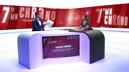 7 Minutes Chrono avec Isabelle Vernay