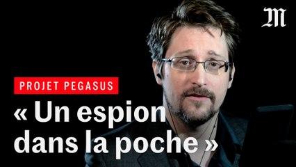 « Tout le monde est concerné » : Edward Snowden réagit aux révélations sur le logiciel espion Pegasus