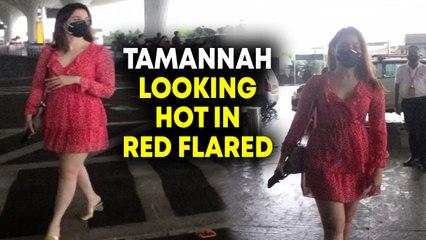 Tamannah Bhatia Spotted At Airport