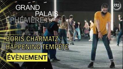 Boris Charmatz inaugure le Grand Palais Ephémère !