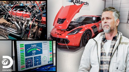 Richard visita Katech: tecnología de punta para motores | El Dúo mecánico | Discovery En Español