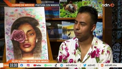 Conoce al pintor mexicano Felipe Romero, una historia de superación