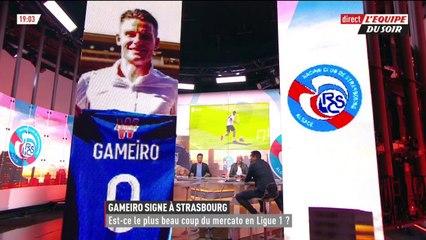 Kévin Gameiro à Strasbourg, est-ce le plus beau coup du mercato en Ligue 1 ? - L'Équipe du Soir - extrait