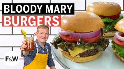 Justin Chapple makes Bloody Mary Burgers | Mad Genius | Food & Wine