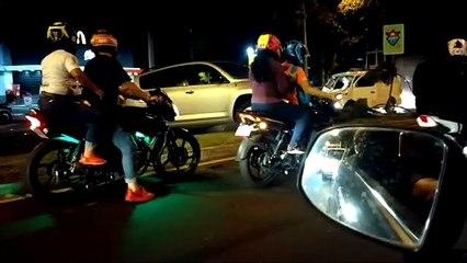 Accidente de tránsito bulevar Liberación